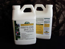 Fertilizer 70% Slow-Release Nitrogen, 20-0-7.5-5s, Liquid, 128 oz (1 Gallon) Jug