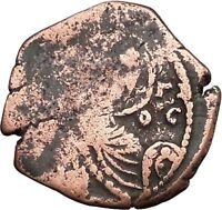 Manuel I , Comnenus 1143AD Ancient Medieval Byzantine Coin Saint George i33172