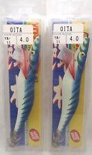 2pcs Yo-zuri OitA Eging Squid Calamari Fishing Jig #4.0 YB/11 Hook R2