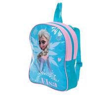 DISNEY sac à dos bleu LA REINE DES NEIGES école H 28 x L 23 x P 7,5 cm  neuf