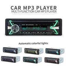 Car Stereo MP3 Player Bluetooth Wireless CD USB Radio Audio 60 Watts Remote U0H3
