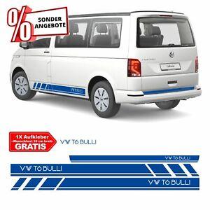 Seitenstreifen SET VW T6 BULLI