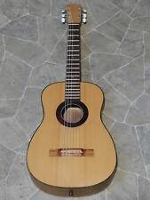 Pequeña Vintage brüko 6 Cuerdas Guitarra Clásica kollitz Alemania 1970 `