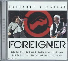 FOREIGNER - Extended Versions - Pop Rock Music CD