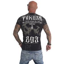 "YAKUZA - Herren T-Shirt TSB 9001 ""Dark Side"" black (schwarz)"