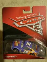 Disney Pixar Cars 3 BOBBY SWIFT #19 Mattel Diecast 1:55 Scale New 2017