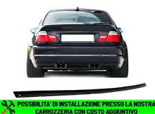 BMW SERIE 3 E46 COUPE 1999-2006 SPOILER POSTERIORE SUL COFANO LOOK M - ABS