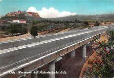 Cartolina Orte Panorama dal Autostrada del Sole 1965