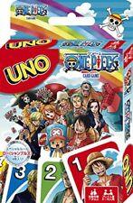 Bandai One Piece UNO Playing Cards Game W4143 Mattel