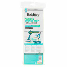 Beldray® LA080813UFEU7 Anti-Bac Sponge Refill Mop Head | Fits Mop LA026477