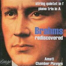 Amati Chamber Player - Rediscovered Piano Quintet In F Minor [New CD]