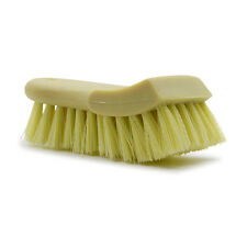 Carpet and upholstery cleaning scrub brush for auto detailing and car washing