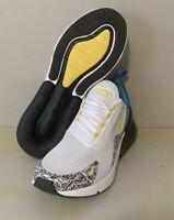 Nike Air Max 270 N7 White Yellow Black Anthracite Men's Shoes Sz 10 CJ0949-100