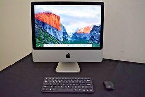 """UPGRADED Apple iMac 20"""" Desktop - WARRANTY - Mac OS - 250GB - Keyboard & Mouse"""