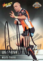 ✺Signed✺ 2012 WESTS TIGERS NRL Card LIAM FULTON