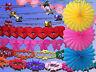Geburtstag Hochzeit Party Girlande, Lampion, Papier Folie Krepp Girlande, Deko