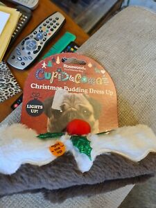 Pet Christmas Pudding Dress Up Band