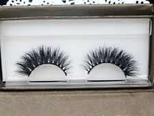 Free shipping quality soft 100% real handmade siberian mink lashes 3d lashes