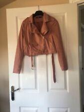 Missguided Suede Biker Jackets Coats, Jackets & Waistcoats for Women