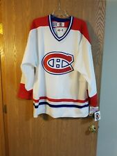 Jocelyn Thibault Montreal Canadiens Starter Jersey Sz 48-R Fight Strap NWT