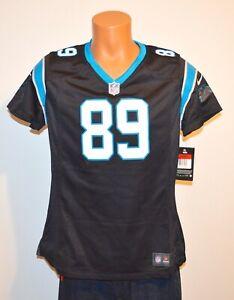 New Vintage Steve Smith #89 Carolina Panthers Nike Football Jersey Black/Blue