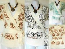 Women's V Neck Short Sleeve Sleeve Hip Length Petite Tops & Shirts