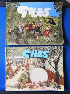 Giles Annuals 10th & 11th Series 1956 & 1957 Daily Express - Fine & unclipped