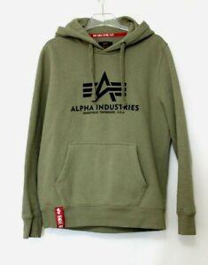 Alpha Industries Kapuzenpullover Herren Hoodie Kapuzensweater Gr. M