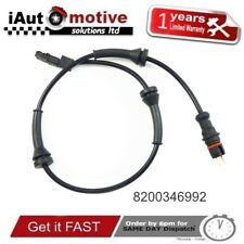 Renault Megane II Scenic Grand Front Left / Right ABS Sensor 8200346992 2002-05
