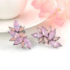 Hot Women Fashion Crystal Rhinestone Ear Drop Dangle Stud Earring Jewelry Gift