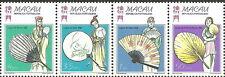 Macau - Traditionelle Fächer Viererstreifen postfrisch 1997 Mi. 932-935