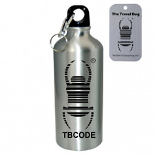 Geocaching Travel Bug Water Bottle Fully Trackable with New Code & TB Tag
