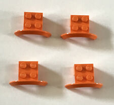 LEGO 3X lot of THREE Hand Truck Frame #2495 in WHITE Rare Color SACK TRUCK