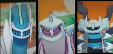 Pokemon all shiny Dialga Palkia & Giratina lvl 100 6IVs ultra sun moon DS trade