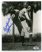 Lefty Gomez Psa Dna Coa Autograph 8x10 Photo  Hand Signed Authentic