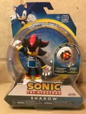 Sonic the Hedgehog - Shadow Bendable Figure - New & packaging slightly damaged.