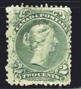 1868-1876 Canada SC# 24 Large Queen Issue-Queen Victoria-Lot CU35-Used