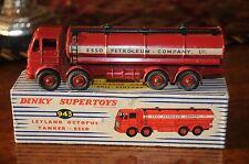 Vintage Dinky Supertoys / Super MIB / Leyland Octopus Esso Tanker / 943 -1