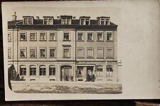 29531 Privat-Foto AK Restaurant zur Grünen Aue  neben Bäckerei um 1910 Dresden ?