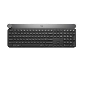 Logitech Craft Advanced Wireless Keyboard w Creative Input Dial Backlit Keys CK
