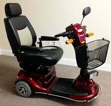 Updated Merits Pioneer 3, S131, 3 Wheel Mobility Electric Scooter, 400 lb. Cap.