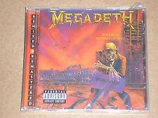MEGADETH - PEACE SELLS...BUT WHO'S BUYING?- CD + BONUS TRACKS SIGILLATO (SEALED)