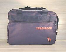 New Trafalgar TT Travel Bag Carry On Tote Laptop Briefcase Over Shoulder Navy