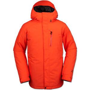Volcom L Gore-Tex Jacket Men's Snowboard Jacket GTX Ski Jacket Winter Jacket