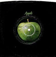 "THE BEATLES ~ Get Back ~ Original 1969 UK FIRST PRESSING 2-track 7"" vinyl single"