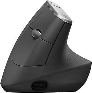 Mouse ergonomico Logitech MX Vertical bluetooth, Associa fino a 3 dispositivi