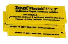 """Zerust Rust Prevention Plastabs 1"""" x 3"""" - Pack of 10"""