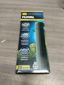 Fluval P25 Pre-Set Aquarium Heater