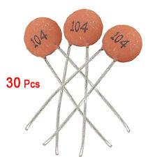 30 x 0.1uF 50V bassa tensione Condensatori a disco in ceramica HKIT