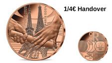 Prévente 1/4 Quarter Euros France Monnaie de Paris 2021 Paris 2024 Handover